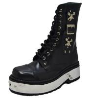 Hard rock punk boot