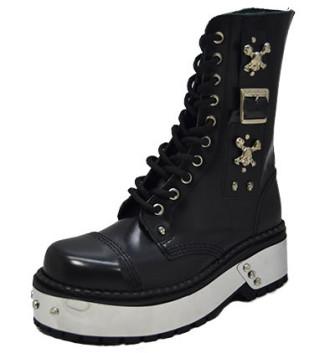 - Hard rock punk boot