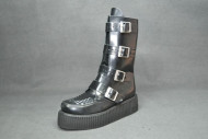 Lancia 4 buckles boot black box