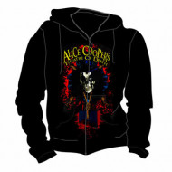 THEATRE OF DEATH ZIPPED HOODY