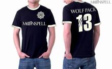 Wolfpack 13 Football Ringer Tshirt