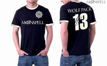 - Wolfpack 13 Football Ringer Tshirt