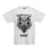 Young Wolf (White, Kids Tshirt)