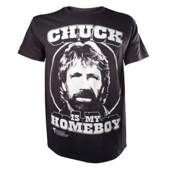 - Chuck Norris - Chuck is my Homeboy