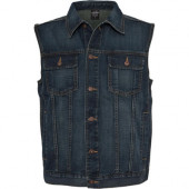 Jeans Vest - Denim blue