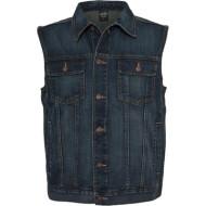 Jeans Vest - Denim blue