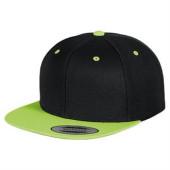 The classic snapback 2-tone (Black / Neon Green)