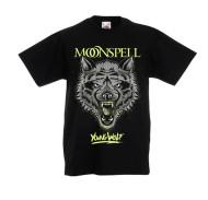 Young Wolf (Black, Kids Tshirt)