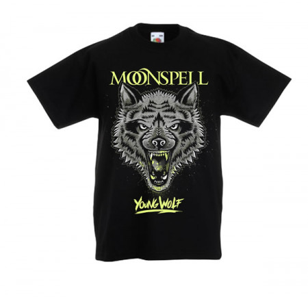 - Young Wolf (Black, Kids Tshirt)