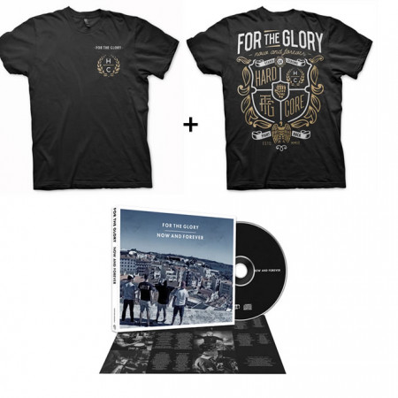 Now and Forever Tshirt + CD