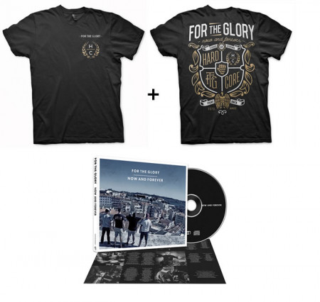 - Now and Forever Tshirt + CD
