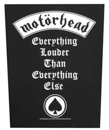 - Everything louder than everything else