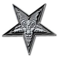 Pentagram Metal Pin