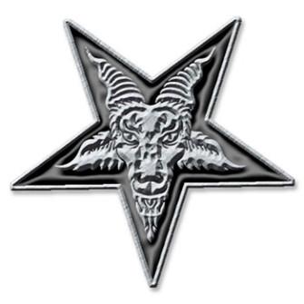 - Pentagram Metal Pin
