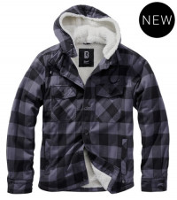 Lumberjacket hooded (Grey)