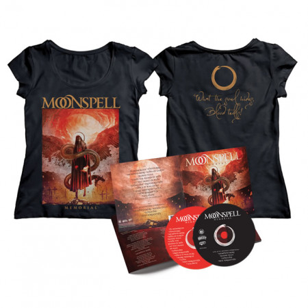 Memorial - Tshirt + 2CD