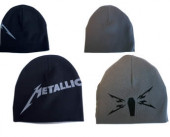 Metallica - Black Reversible Beanie W/ Coffin