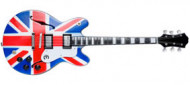 "OASIS - Noel Gallagher: ""Supernova"" British flag style."