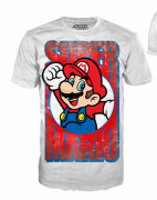 Nintendo -  White Mario, t-shirt