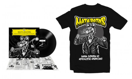 - Maestro do Apocalipse Tshirt + LP