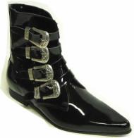 4 western buckle boot