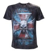 Alchemy t-shirt - aea iron cross vintage