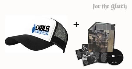 - LXBLS White Trucker Cap + CD
