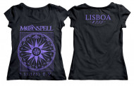 1755 Compass Lisboa Logo Girlie Tshirt (Purple)