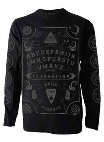- Grey Ouija Board Mens Long Sleeve T Shirt