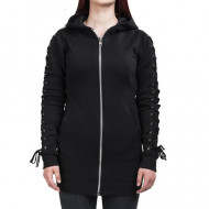 Ladies Laced Hooded Zipper
