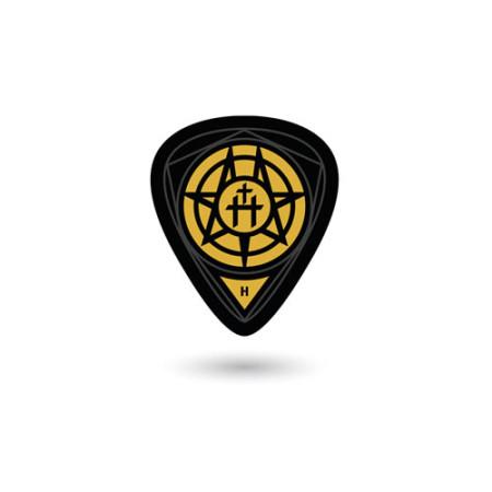 Hermitage: Guitar Pick 1