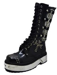 Bones punk boot