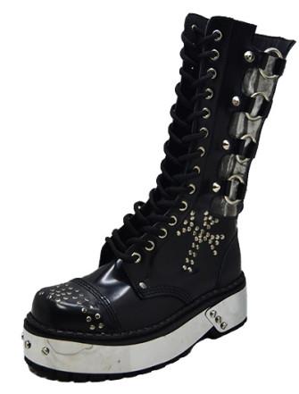 - Bones punk boot
