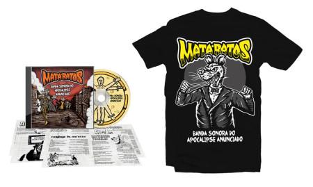 - Maestro do Apocalipse Tshirt + CD