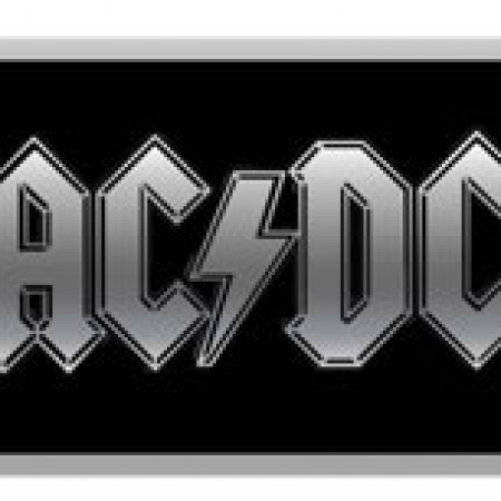 ACDC - Black Buckle With Logo