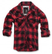 Check Shirt red black checkered