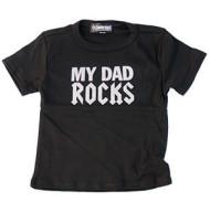 Dad Rocks Kids T Shirt