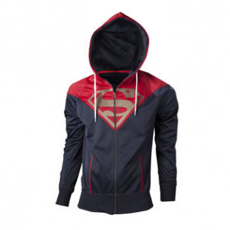 - Superman - Hoodie with logo in front