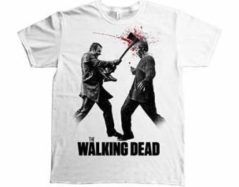 - Walking Dead - Axe to the head