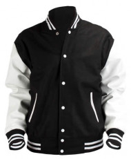 Black&White Baseball Jacket
