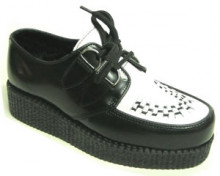 Steelground Single lace creeper shoe
