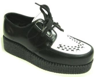 - Steelground Single lace creeper shoe