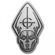 Papa Head Metal Pin