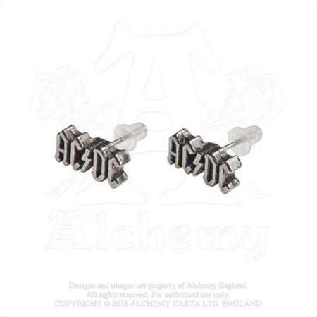 - AC/DC Stud Earrings