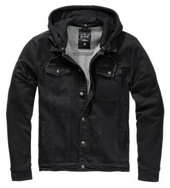 - Cradock Denim Sweat Jacket