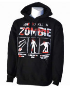 How To Kill A Zombie Pullover Hood