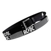 ACDC - Logos W Pins Blk Pu Belt