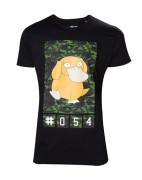 Pokémon - Black Camo Psyduck Men's T-shirt