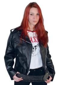 Lady Biker - Leather Jacket «Classic style»
