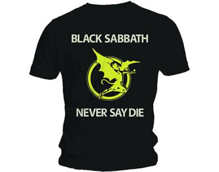 - Never say die